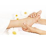 Foot, Massaging, Massage, Foot Massage