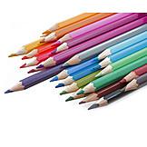 Crayon, Multi colored, Pens