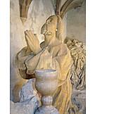 Statue, Sculpting, Praying