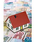 Immobilie, Hausbau, Modellhaus, Baufinanzierung