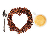 Genuss & Konsum, Kaffee, Herz