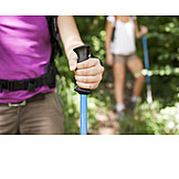 On the move, Hiking, Nordic walking, Walking stick