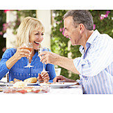 Couple, Eating & Drinking, Toast, Cheers