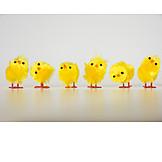 Easter, Chicks, Easter Decoration