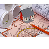 Blueprint, Building Construction, Floorplan