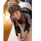 Girl, Mobile Phones