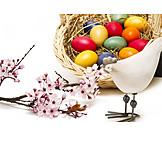 Easter, Easter Nest, Easter Basket, Easter Decoration