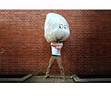 Humor & bizarre, Garbage bag, Foil, Incognito