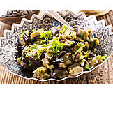 Vegetable, Oriental Cuisine, Eggplant