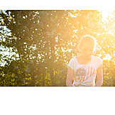 Girl, Sunshine, Summer