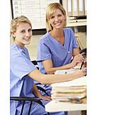 Arbeit & Beruf, Gesundheitswesen & Medizin, Krankenschwester