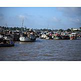 Handel, Vietnam, Mekong