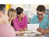 Büro & Office, Besprechung & Unterhaltung, Meeting