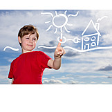 Alternative Energy, Green Electricity, Solar Energy, Solar House