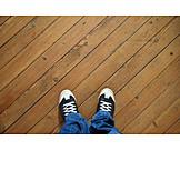Feet, Hardwood floor, Relocation