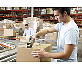 Sending, Packing, Sales, Mail order company