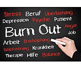 Erschöpfung, Krankheit, Stress & Belastung, Burnout