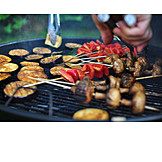 Broiling, Grill, Bbq skewer