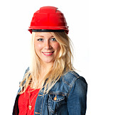 Young Woman, Job & Profession, Architect, Engineer