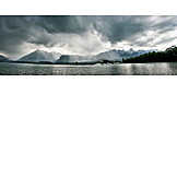 Threatening, Stormy, Lake thun