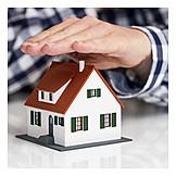 Wohnhaus, Eigenheim, Versicherung, Gebäudeversicherung