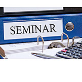 Office & Workplace, Folder, Seminar
