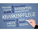 Medizin & Gesundheitswesen, Krankenpflege