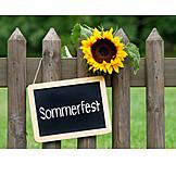 Garden, Summer, Summer Celebration