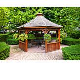 Garden, Pavilion