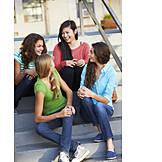 Teenager, Spaß & Vergnügen, Freundinnen