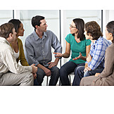 Meeting & Conversation, Group, Discussion, Self-experience