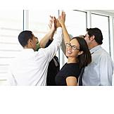 Erfolg & Leistung, Team, Geschäftsleute