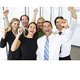 Success & Achievement, Team, Business Person, Ecstatic