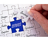 Advice, Service, Satisfaction, Competence