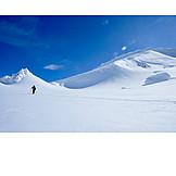 Winter landscape, Canada, Alaska