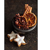 Spices & Ingredients, Cinnamon Biscuit, Christmas, Christmas Spices