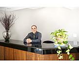 Reception, Secretary, Login, Reception desk