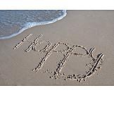 Holiday & Travel, Beach Holiday, Happy