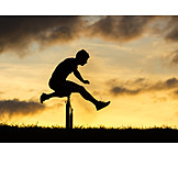 Sport & Fitness, Springen, Hürdenlauf