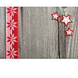 Backgrounds, Christmas, Wood, Star, Bow
