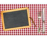 Copy Space, Gastronomy, Blackboard, Menu