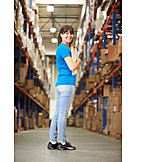 Logistics, Warehouse, Warehouse Clerk, Mail Order Company