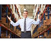Logistik, Lagerhalle, Manager, Versandhandel