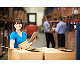 Logistics, Unpacking, Warehouse Clerk, Mail Order Company