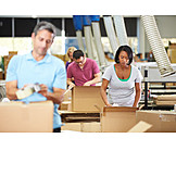 Logistics, Packing, Waren, Warehouse Clerk, Mail Order Company