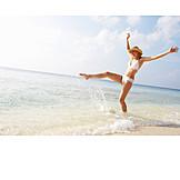 Holiday & travel, Omitted, Beach holiday, Splashing