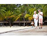 Holiday & Travel, Walk, Older Couple