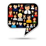 Communication, Internet, Integration, Social Media