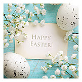 Easter, Easter greeting, Happy easter, Easter card
