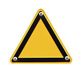 Textfreiraum, Gefahr & Risiko, Warnschild, Schild